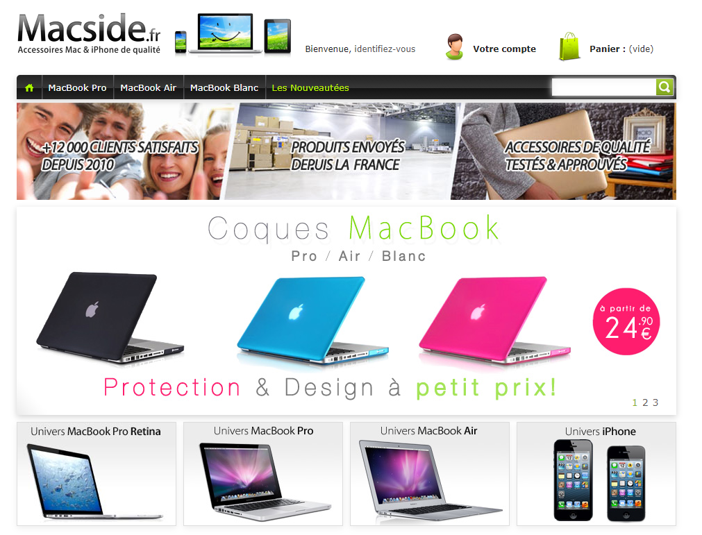 Visuel site Macside